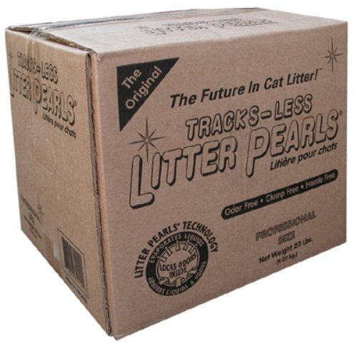 Tracksless Litter Pearls Cat