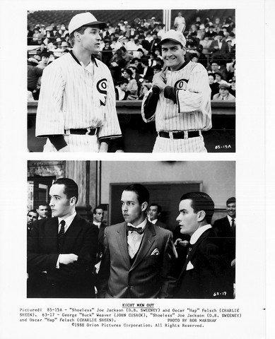 MOVIE PHOTO: EIGHT MEN OUT-JOHN CUSACK-DB SWEENEY-CHARLIE SHEEN-STIL FN (Charlie Sheen-stil)