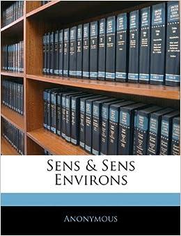 Book Sens and Sens Environs