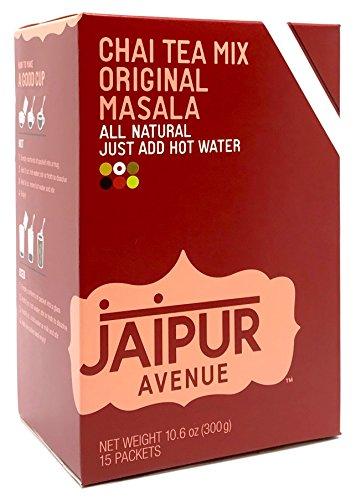 Jaipur Avenue Chai Tea Mix Masala (15-Count Box) from Jaipur Avenue