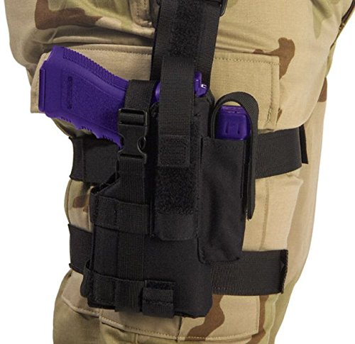 Elite Survival Systems Tactical Holster Right Hand 7677-B-RH Tactical Holster Right Hand Black ()
