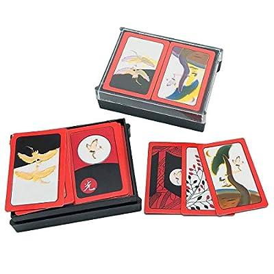Korean Flower Card Game Hwatu, Go-Stop, Godori 2Pcs: Toys & Games