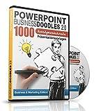PowerPoint BusinessDoodles 2.0 - 1000 Handgezeichnete Präsentationsvorlagen für PowerPoint: Business & Marketing Edition für PC & Mac