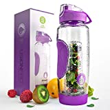 Best Fruit Infuser Water Bottle 32 Ozs - Infusion Pro 32 oz. Fruit Water Bottle Infuser Review