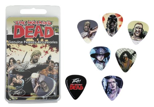 (Peavey Walking Dead Characters Pick Pack)