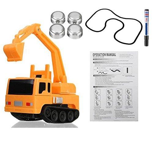 Creazy Follow Any Drawnラインマジックペン誘導車トラックモデル子供キッズおもちゃギフト