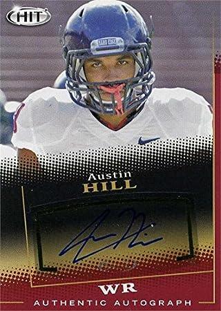 bccf8cd8 Austin Hill autographed football card (Arizona Wildcats) 2015 SAGE ...