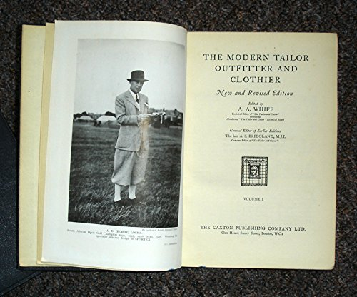 The Modern Tailor Outfitter and Clothier - Vol III