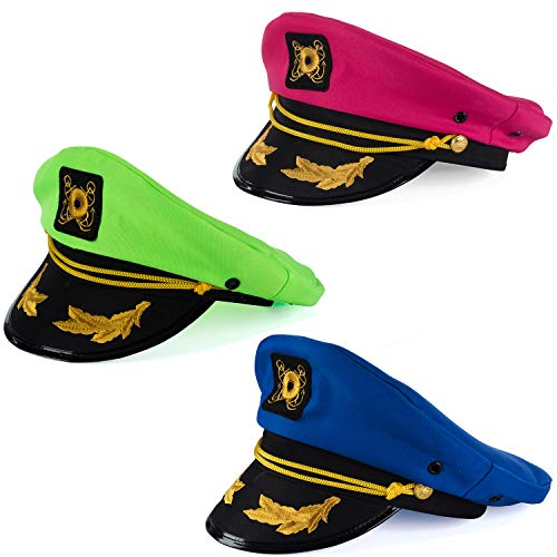 Sailor Outfits Women - Tigerdoe Yacht Hats - 3 Pack