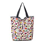 Reusable Grocery Tote Bag Expandable Shopping Bags Folding Bag Amusement Park