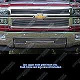 2014 billet grill chevy silverado - Fits 2014-2015 Chevy Silverado 1500 Reg Model Only Billet Grille Inserts