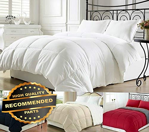 Werrox Goose Down Alternative Luxurious Reversible Comforter Full Queen and King | King Size | Quilt Style QLTR-291266144