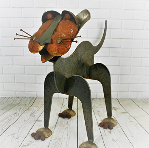 Metal Cat Statue (Statues Recycled)
