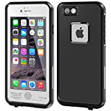 IPhone 6/6s Plus Waterproof Case, Erun iPhone 6/6s Plus Waterproof Case, Dust Proof, Snow Proof, Shock Proof Protective Carrying Cover Case for iPhone 6/6s plus 5.5 inch White