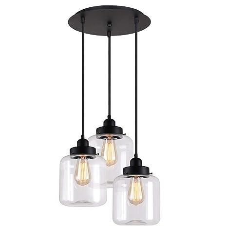 Lámparas de araña Luz de techo Disco simple moderno 3 ...