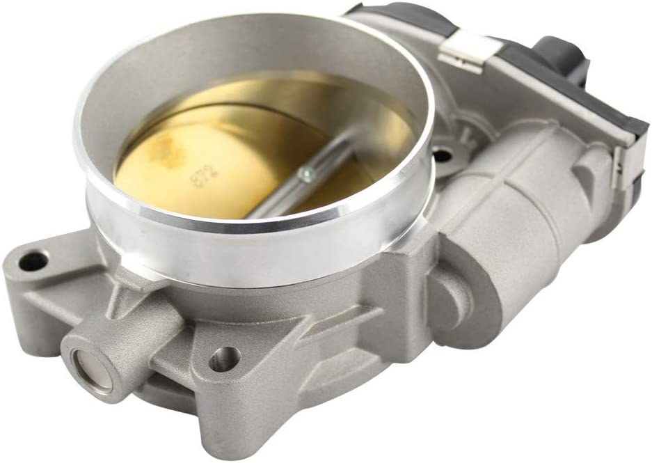 TekMaster TRB1027 Throttle Body compatible with 12-14 Chevy Camaro 6.2L