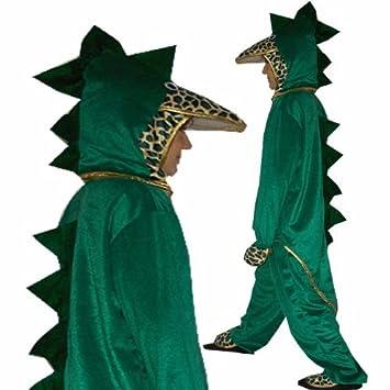 SC Disfraz Dragón Dino Dinosaurios cocodrilo (Talla 110 116 ...