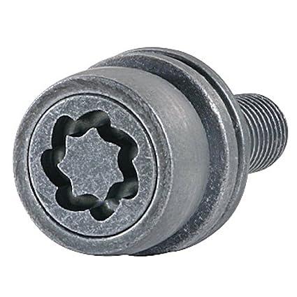 Farad 1-DS3//E Star Lock 1CH Starlock Antifurto Ruote per Autovetture con Serraggio a Dado 4 con 1 Chiave