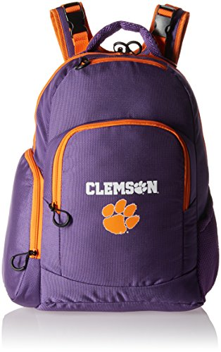 Lil Fan Diaper Backpack Collection, Clemson (Back Tiger)