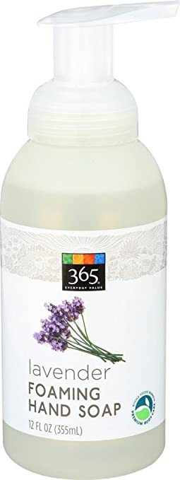 Amazon Com 365 Everyday Value Lavender Foaming Hand Soap 12 Fl
