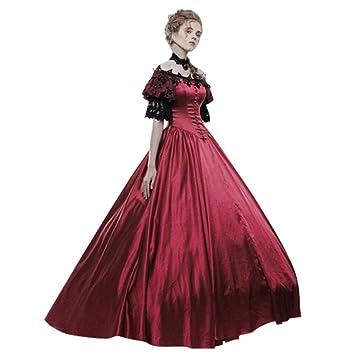 Amazon.com: Fammison vestido de baile de corte gótico ...