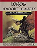 Lords of Middle-Earth Vol 2: The Mannish Races (Middle Earth Role Playing Game, #8003)