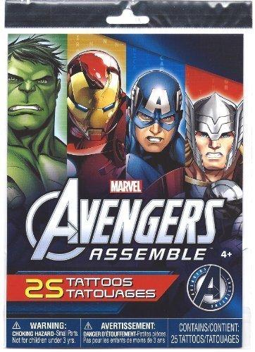 Marvel Avengers Assemble 25 Temporary