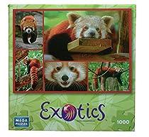 Red Panda 1000 Piece Exotics Mega Puzzle