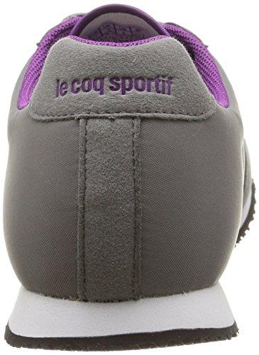 Le Coq Sportif Women's Racerone W Low-Top Sneakers Grey (Titanium/Sparkling Grape) zAoIKppmB