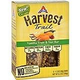 Atkins Harvest Trail Vanilla Fruit & Nut Bar, 5 Bars (Pack of 2)