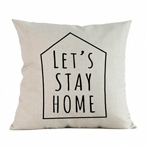 Iuhan Throw Pillow Case Cushion Cover, Home Decor Cushion Co