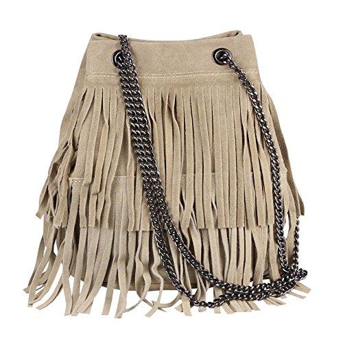 OBC Only-Beautiful-Couture, Sac pour femme à porter à l'épaule Gris Dunkelgrau 20x25x19 Cm 20x25x19 cm (BxHxT) Taupe 20x25x19 Cm