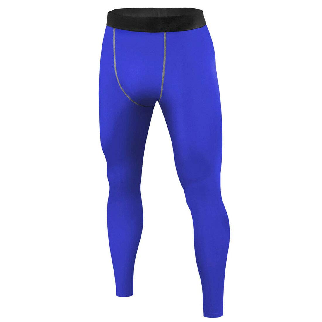 Mens Navy Blue Compression Long Pants Under Base Layer Tights #HLFN XL-XXL Peppermint Store