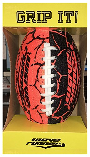 Wave Runner Grip It Football, Orange WR-MATCH-FOOTBALL-GRN