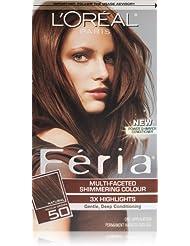 L'Oréal Paris Feria Permanent Hair Color, 50 Havana...