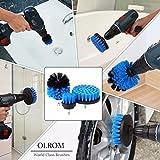3Pcs Electric Drill Brush Head Bathtub T...