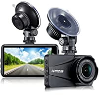 Dash Cam - ANNKOO AD01 Large HD LENS 3.0 Screen Full HD Display 1080P 1296P 170° Wide Angle HDR Dashboard Camera Car DVR Vehicle Dash Cam with G-Sensor, WDR, Loop Recording, Black