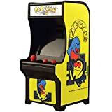 Super Impulse Pac-Man Classic Tiny Arcade Game - Palm Size w/ Authentic Sounds & Joystick