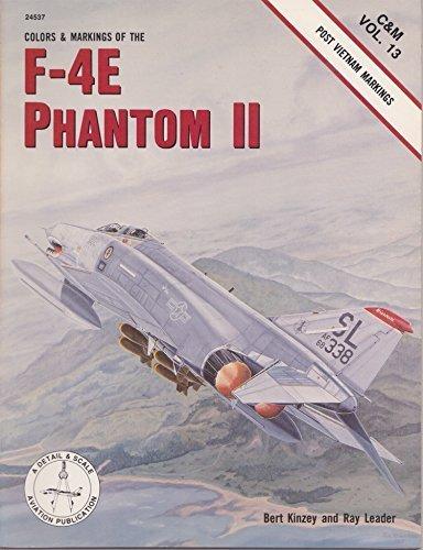 Colors and Markings of the F-4E Phantom II, Post VietNam Markings- C&M Vol. 13 ()