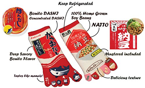 king-original-japanese-five-toe-ankle-socks-2-pairs-katsuo-dashi-and-natto