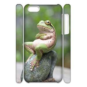 ALICASE Design Diy hard Case Frog For Iphone 4/4s [Pattern-6]