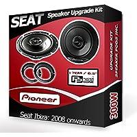 Pioneer Haut-parleurs avec Anneaux adaptateurs pour portières Avant Seat Ibiza 240W