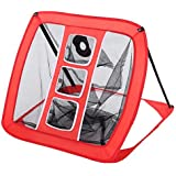YUEBO golf chipping Net Portable Training Target, Pop-Up Hitting Aid with Carry Bag
