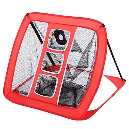 YUEBO golf chipping Net Portable Training Target, Pop-Up Hitting Aid with...