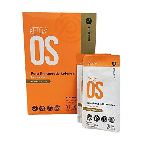 Pruvit Keto // OS V2.1 Optimized Formula Drink Orange Dream, 23.6 oz (Pack of 30)