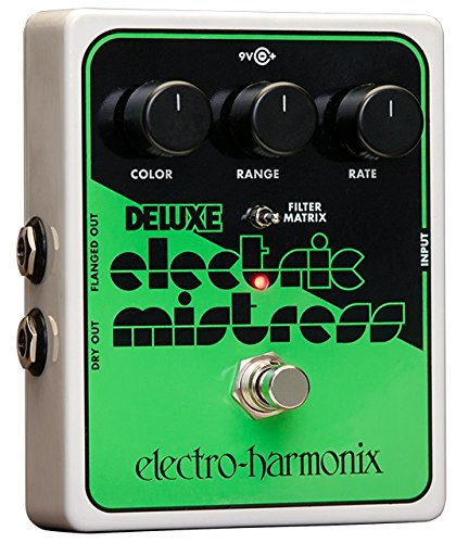 Deluxe Electric Mistress - Electro-Harmonix Deluxe Electric Mistress XO Guitar Flange Effect Pedal