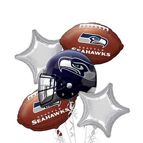 Anagram International Bouquet Seahawks Party Balloons, -