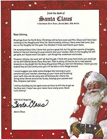 の 手紙 から サンタ