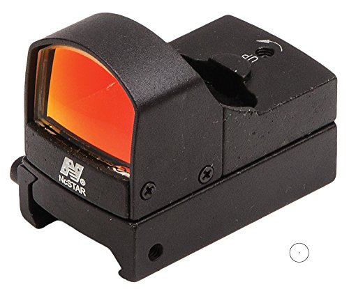 NcStar Compact Tactical Red Dot Reflex Sight/Weaver Base/Black ()