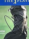 Sergio Garcia signed the players championship photo